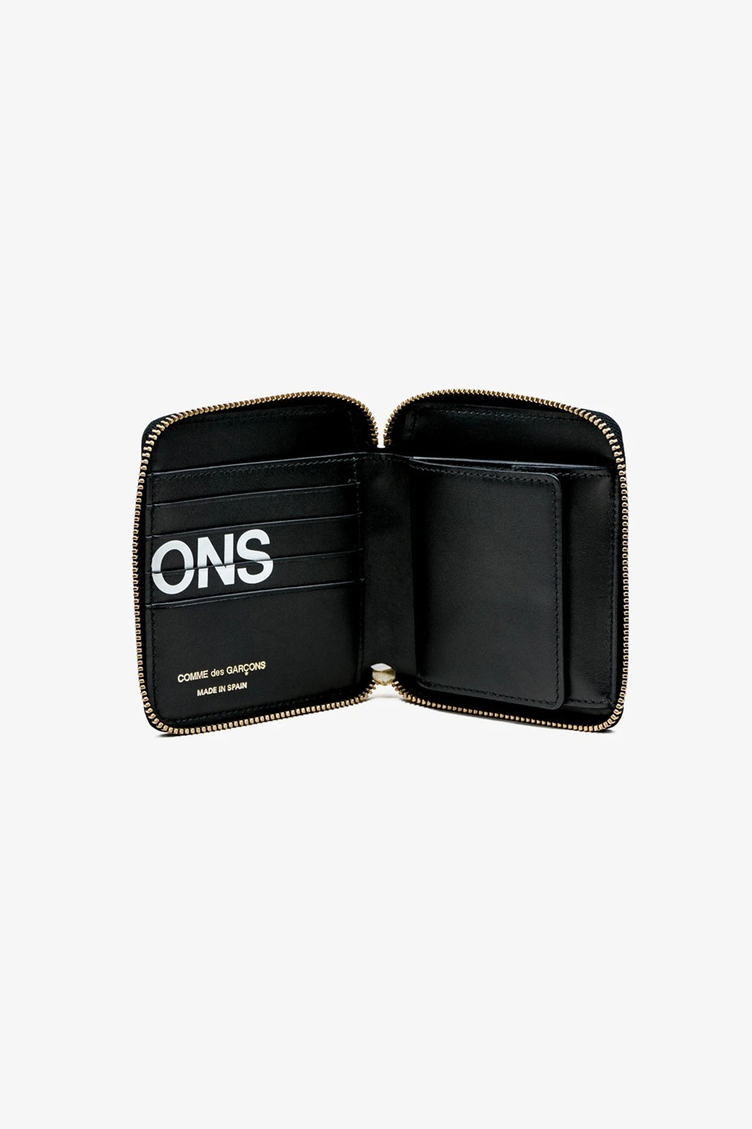 FRAME - COMME DES GARCONS WALLETS Huge Logo Wallet