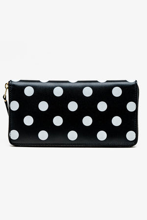 FRAME - COMME DES GARCONS WALLETS Printed Polka Dots Long Wallet