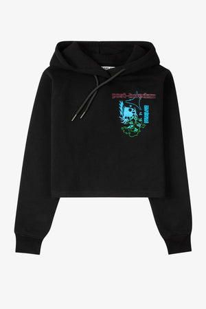 Selectshop FRAME - DREAMLAND SYNDICATE Reflection Cropped Hoodie Sweatshirts Dubai
