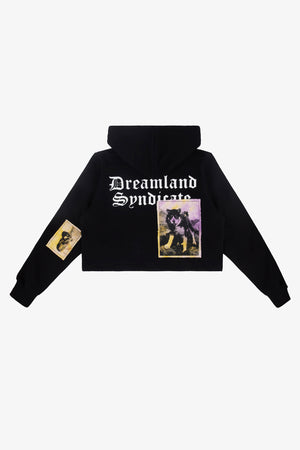 FRAME - DREAMLAND SYNDICATE Cropped Hoodie