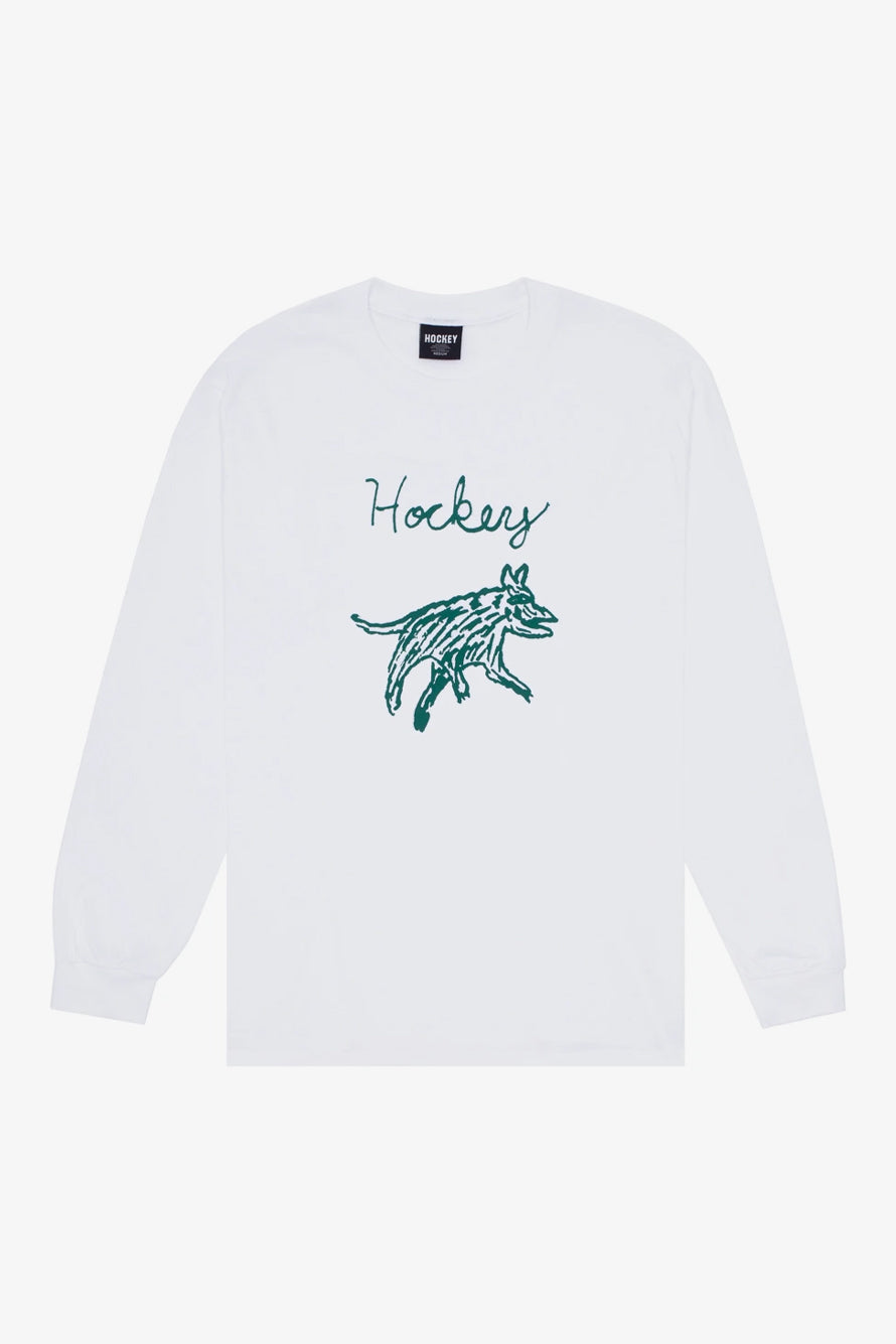 Selectshop FRAME - HOCKEY Hockey Dog Long Sleeve T-Shirts Dubai