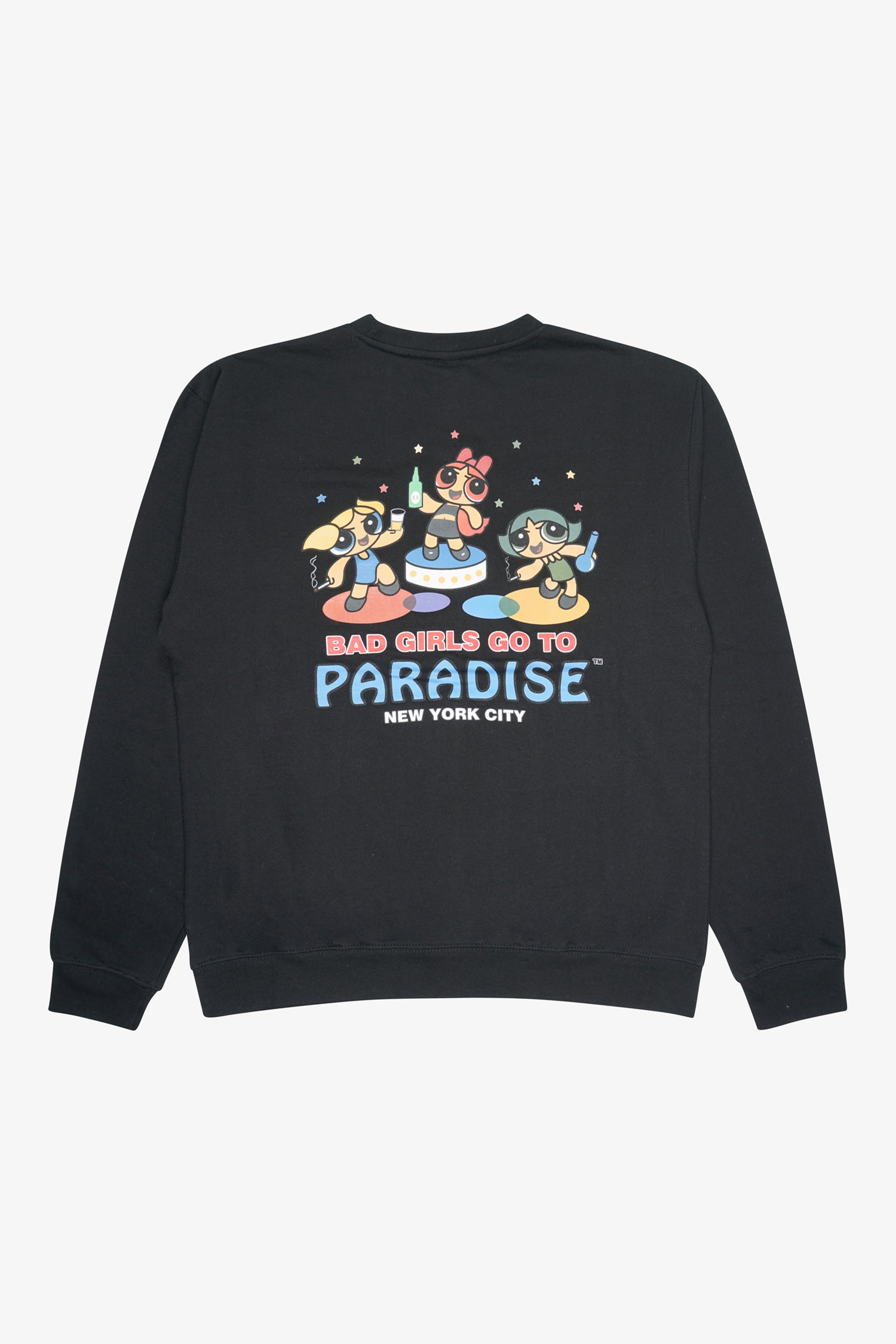 Selectshop FRAME - PARADIS3 Bad Girls Crewneck Sweats-Knits Dubai