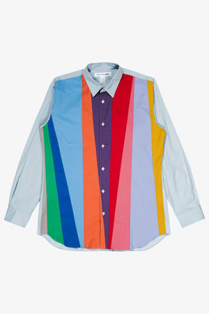 Selectshop FRAME - COMME DES GARÇONS SHIRT Multi-Color Oxford Shirt Shirt Dubai