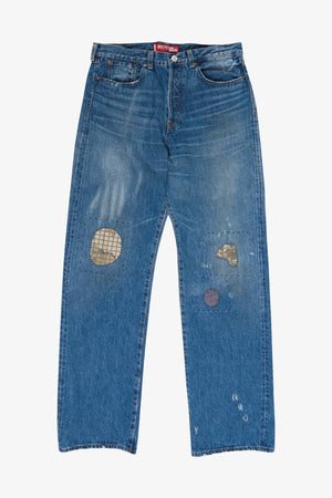 Levi's 501 1937 Model Customized Denim Pants