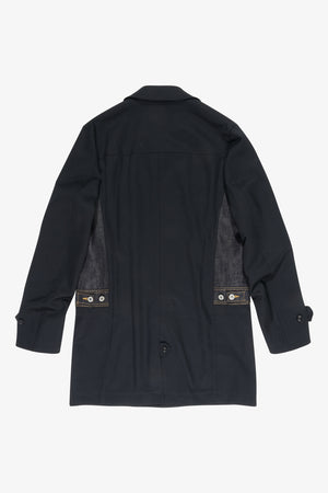Navy Wool Levi's Edition Gabardine Coat