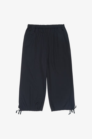 Selectshop FRAME - COMME DES GARÇONS GIRL Cropped Drawstring Hem Trousers Bottoms Dubai