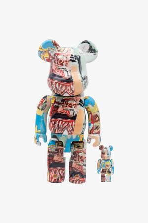 Selectshop FRAME - MEDICOM TOY Jean Michel Basquiat #6 Be@rbrick 100%&400% Collectibles Dubai