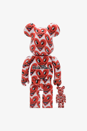 Selectshop FRAME - MEDICOM TOY Keith Haring #6 Be@rbrick 100%&400% Collectibles Dubai