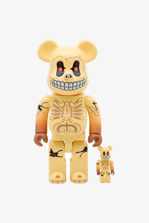 Selectshop FRAME - MEDICOM TOY Skull Face Be@rbrick 100%&400% Collectibles Dubai
