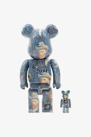 Selectshop FRAME - MEDICOM TOY Van Gogh Museum Self Portrait Be@rbrick 100%&400% Collectibles Dubai