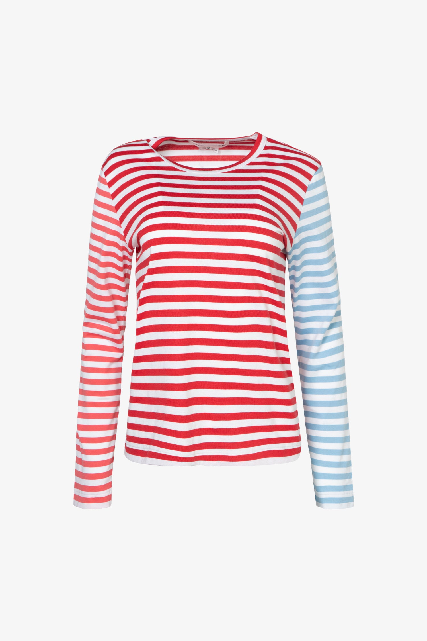 Selectshop FRAME - COMME DES GARCONS GIRL Color-Blocking Stripes Long sleeve T-Shirt T-Shirts Dubai