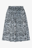 Selectshop FRAME - COMME DES GARCONS BLACK Abstract Cities Pattern Skirt Bottoms Dubai