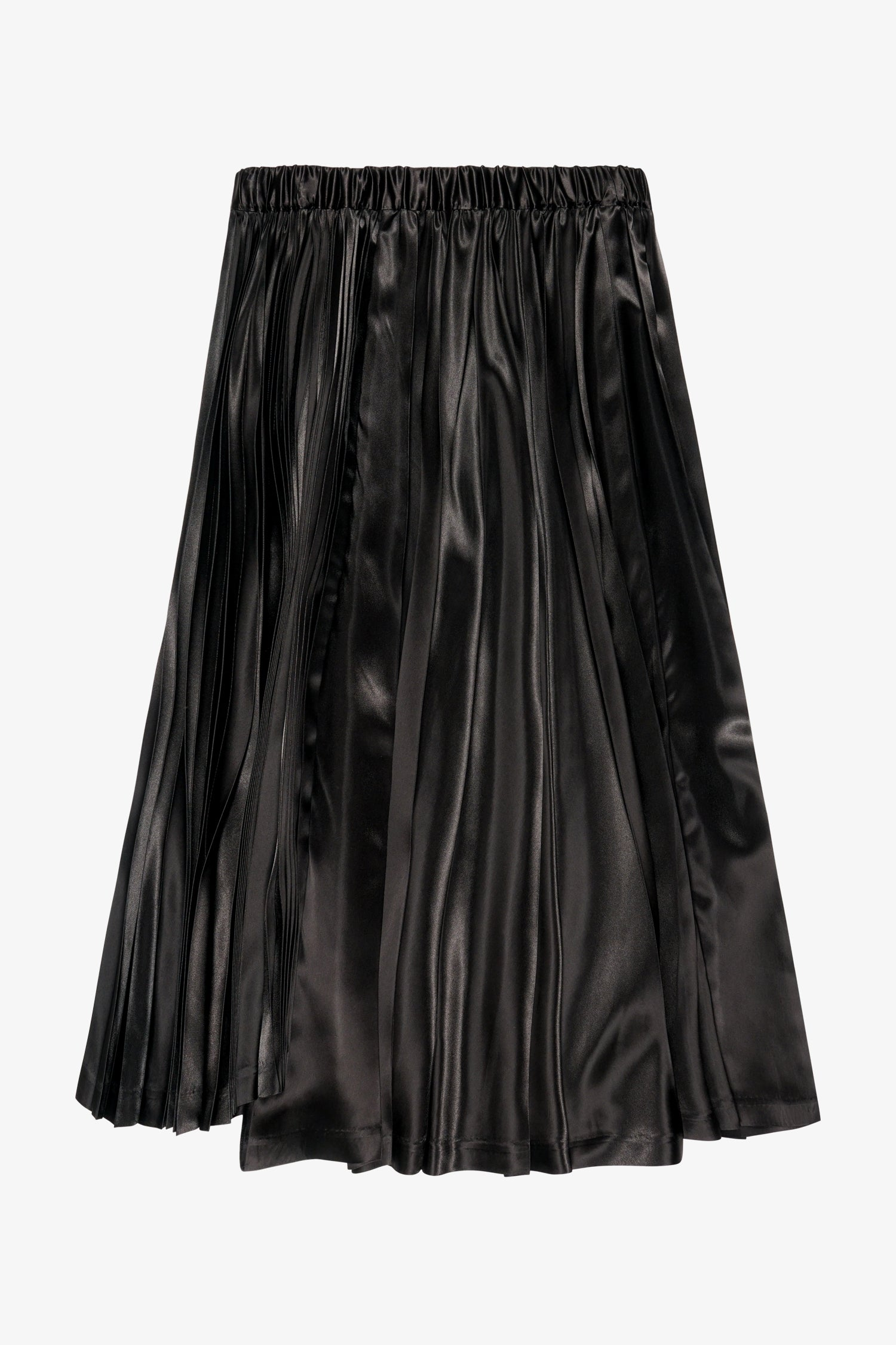 Selectshop FRAME - COMME DES GARCONS BLACK Sunray Pleated Skirt Bottoms Dubai