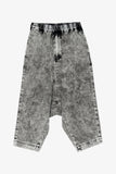 Selectshop FRAME - COMME DES GARCONS BLACK Sarouel Washed Denim Pants Bottoms Dubai