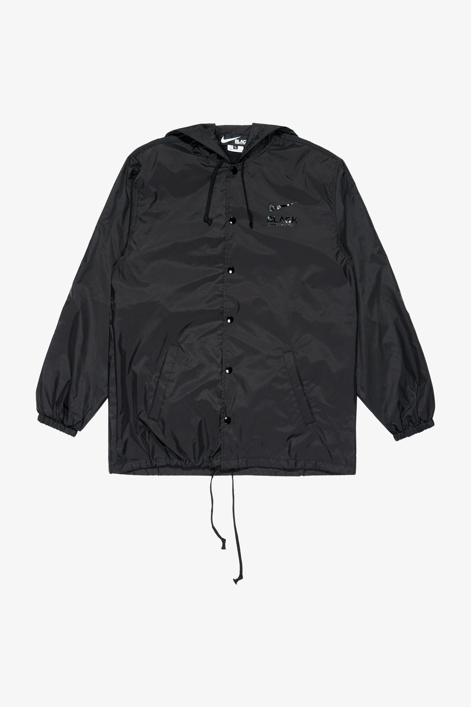 Selectshop FRAME - COMME DES GARCONS BLACK Nike BRS Hooded Coach Jacket Outerwear Dubai