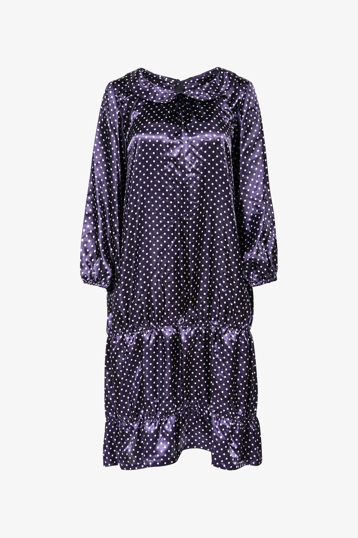 Selectshop FRAME - COMME DES GARÇONS GIRL Satin Polka Dot Dress Dress Dubai