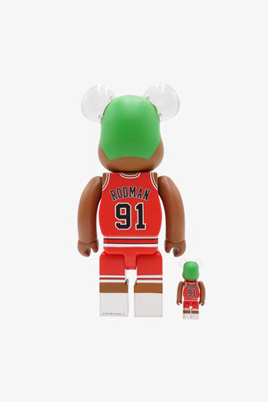 "Selectshop FRAME - MEDICOM TOY Dennis Rodman ""Chicago Bulls"" Be@rbrick 400%+100% Collectibles Dubai"
