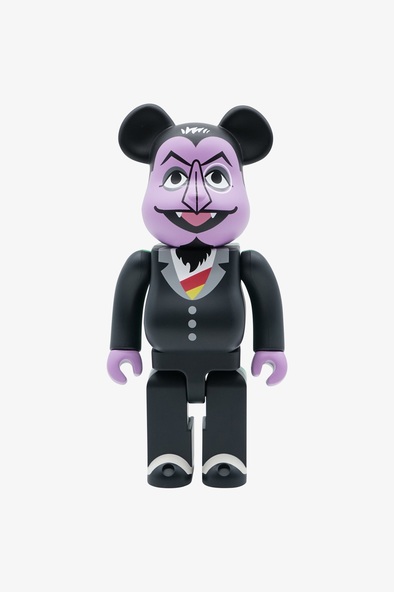 "Selectshop FRAME - MEDICOM TOY Sesame Street ""Count von Count"" Be@rbrick 400% Collectibles Dubai"