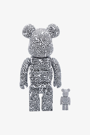 Selectshop FRAME - MEDICOM TOY Keith Haring #4 Be@rbrick 400% + 100% Collectibles Dubai