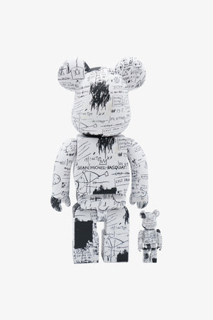 Selectshop FRAME - MEDICOM TOY Jean Michel Basquiat #3 Be@rbrick 100% + 400% Collectibles Dubai