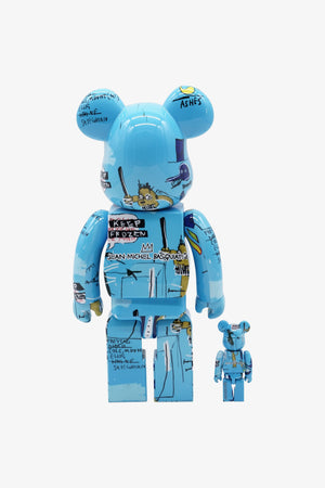 Selectshop FRAME - MEDICOM TOY Jean Michel Basquiat #4 Be@rbrick 400% + 100% Collectibles Dubai