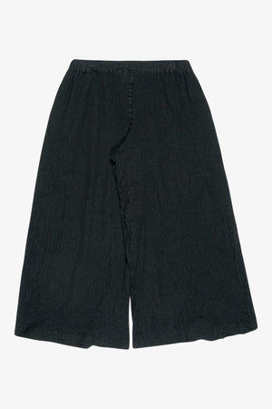 Selectshop FRAME - COMME DES GARÇONS BLACK Wide Leg Drawstring Wool Trousers Bottoms Dubai