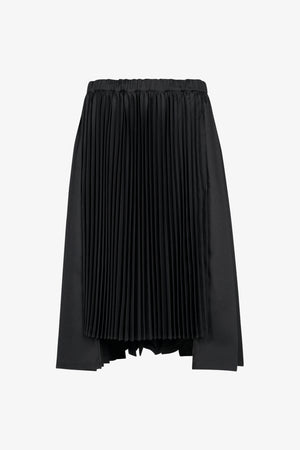 Selectshop FRAME - COMME DES GARÇONS BLACK Accordion Pleated Skirt Bottoms Dubai