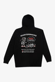 Selectshop FRAME - QUARTER SNACKS Pest Control Hoody Sweats-Knits Dubai