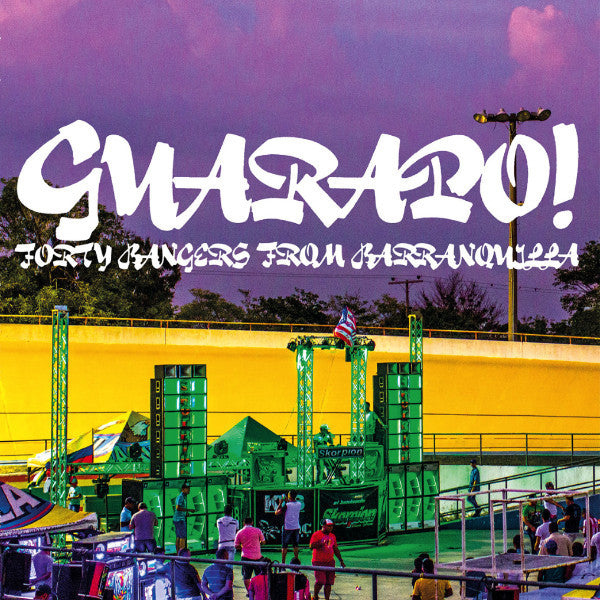 "Selectshop FRAME - FRAME MUSIC VA: ""Guarapo! Forty Bangers From Barranquilla"" LP Vinyl Record Dubai"