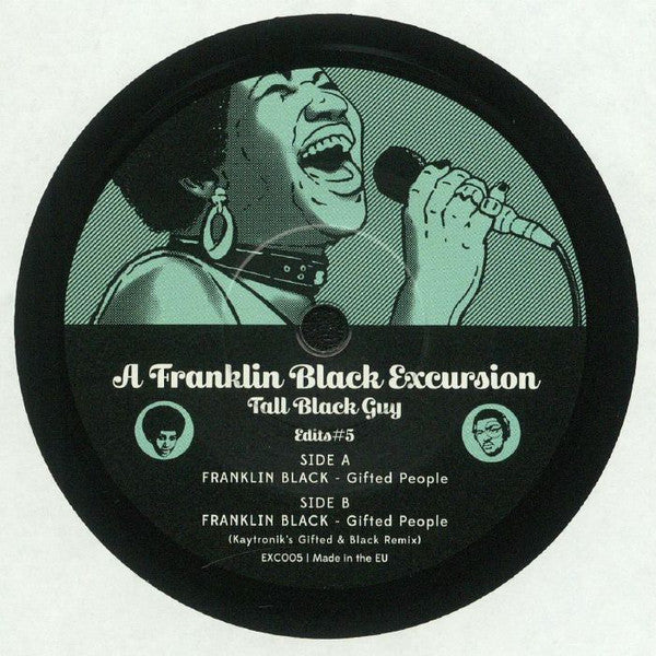 "Selectshop FRAME - FRAME MUSIC Tall Black Guy: ""A Franklin Black Excursion - Edits#5"" LP Vinyl Record Dubai"
