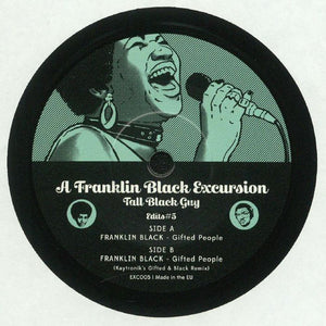 "FRAME - FRAME MUSIC Tall Black Guy: ""A Franklin Black Excursion - Edits#5"" LP"