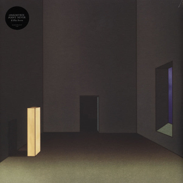 "FRAME - FRAME MUSIC Oneohtrix Point Never: ""R Plus Seven"" LP"