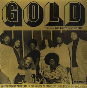 "FRAME - FRAME MUSIC Avelino Pitts And Welfare: ""Gold"" LP"