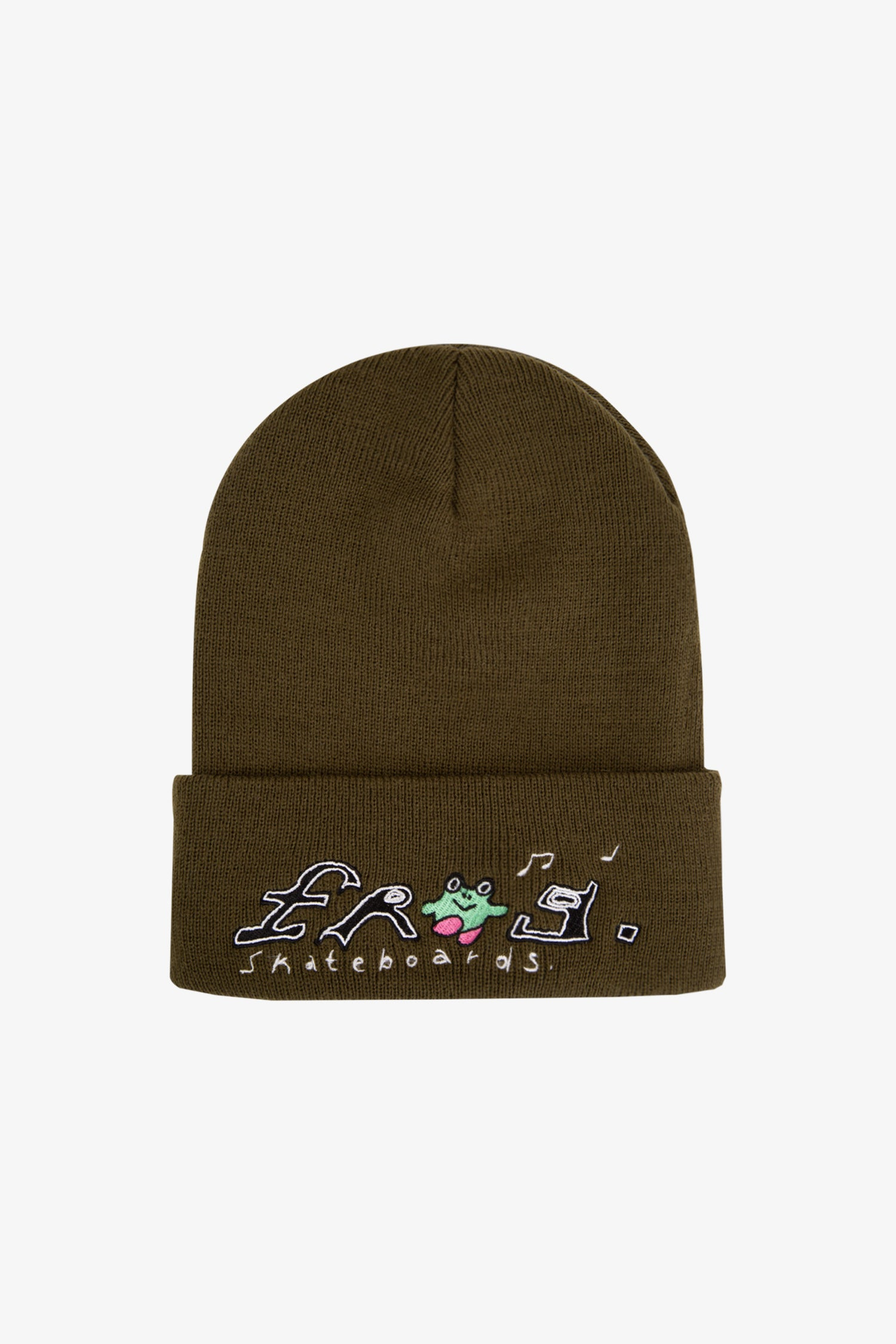 Selectshop FRAME - FROG SKATEBOARDS Happy Dirty Beanie Accessories Dubai