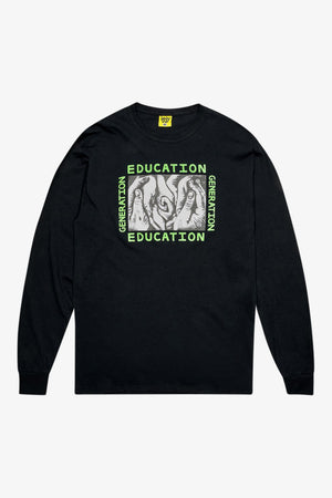 Selectshop FRAME - IGGY Generation Education Long Sleeve T-Shirt Dubai