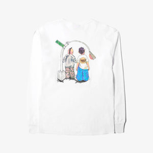 Selectshop FRAME - IGGY On The Block Long Sleeve T-Shirt Dubai