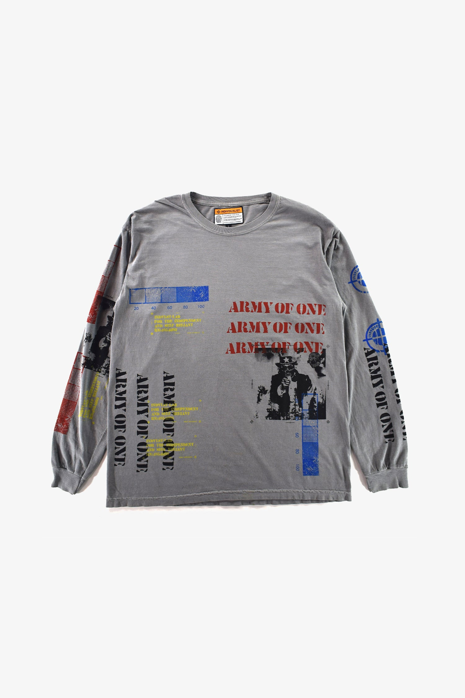 Selectshop FRAME - INDVLST Army of One Print Kit Long Sleeve T-Shirts Dubai