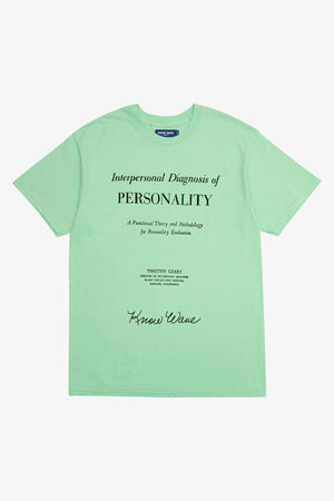 Selectshop FRAME - KNOW WAVE Personality Evaluation T-Shirt T-Shirt Dubai