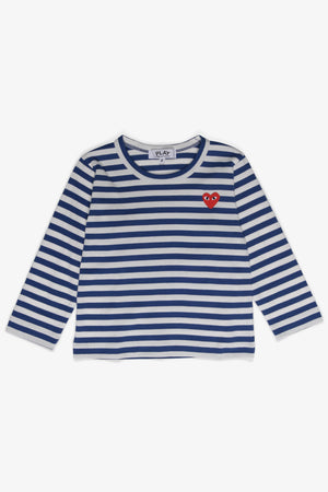 Selectshop FRAME - COMME DES GARCONS PLAY Royal Blue Stripes Longsleeve Kids Dubai