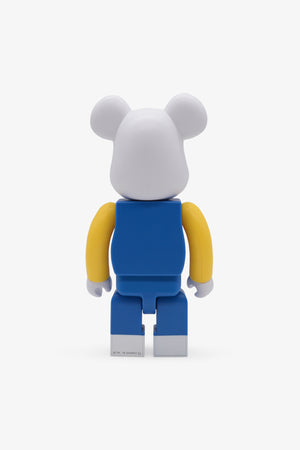 Hello Kitty Blue Overall Be@rbrick 400%