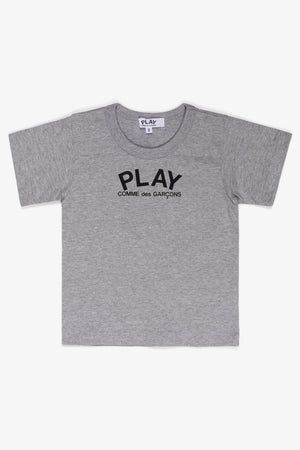 Selectshop FRAME - COMME DES GARCONS PLAY Logo T-Shirt Kids Dubai