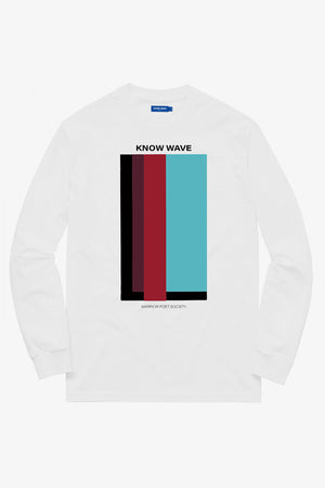 Selectshop FRAME - KNOW WAVE Volume Issue Longsleeve T-Shirt Dubai