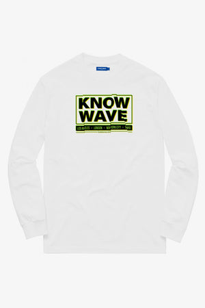 Selectshop FRAME - KNOW WAVE Chop It Up Longsleeve T-Shirt Dubai