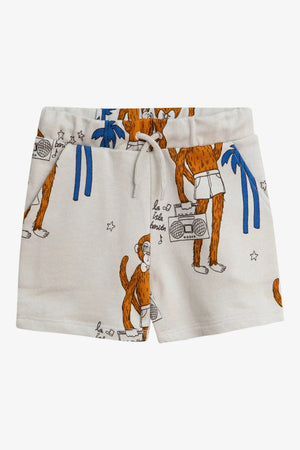 Selectshop FRAME - MINI RODINI Cool Monkey Aop Sweatshorts Kids Dubai