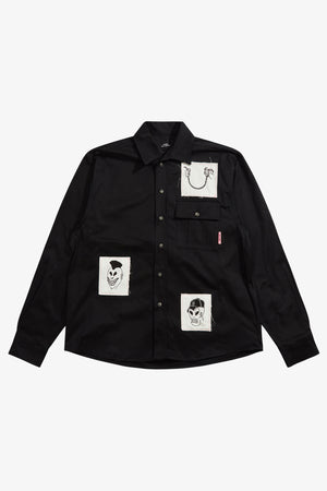 Selectshop FRAME - RASSVET Patch Work Shirt Shirts Dubai