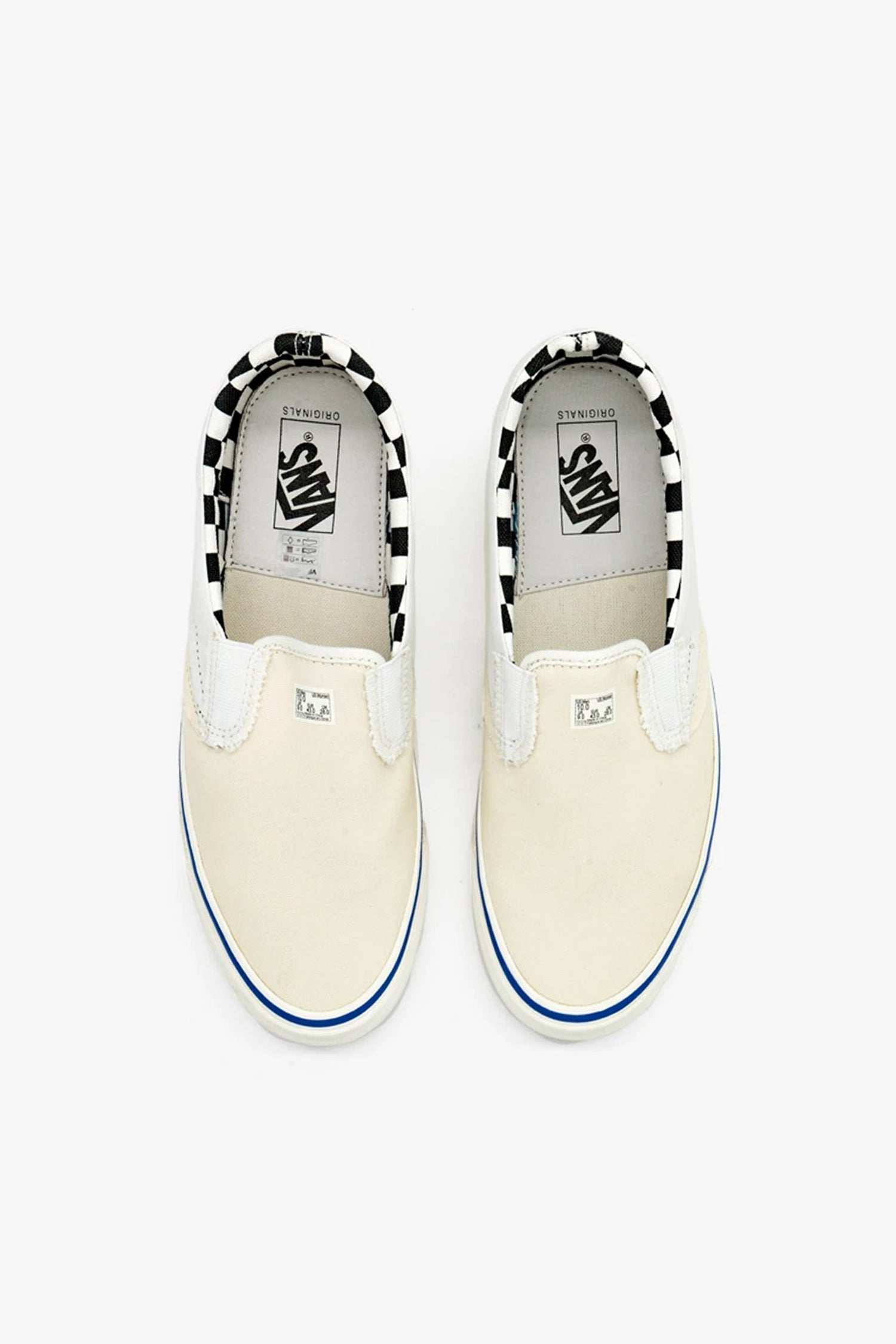 FRAME - VANS Vault UA OG Classic Slip-On LX Inside Out