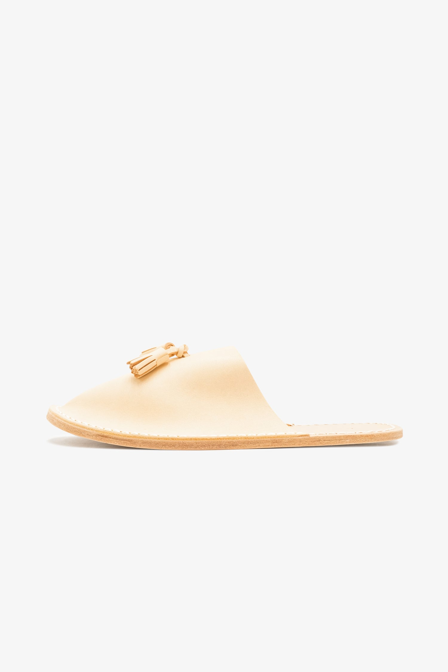 Selectshop FRAME - HENDER SCHEME Slipper Natural Footwear Dubai