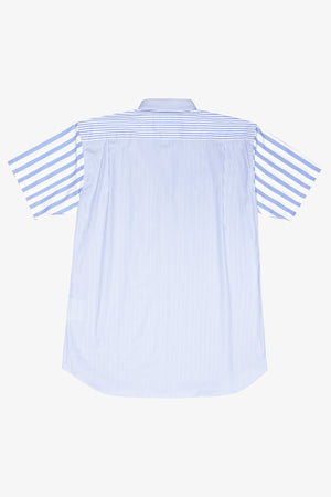 Selectshop FRAME - COMME DES GARÇONS SHIRT Short sleeves Colorblocking Striped Shirt Shirt Dubai