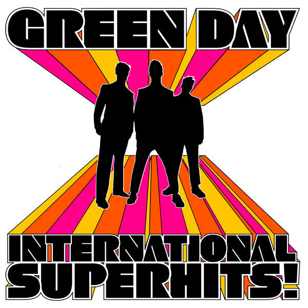 "Selectshop FRAME - FRAME MUSIC Green Day: ""International Superhits"" LP Vinyl Record Dubai"