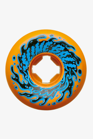 Selectshop FRAME - SLIME BALLS 54mm Double Take Vomit Mini Orange Black 97a Skate Dubai